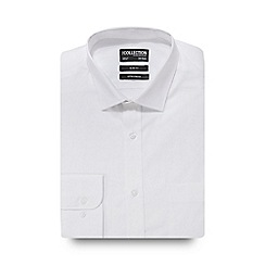 The Collection - White pointed collar slim fit shirt