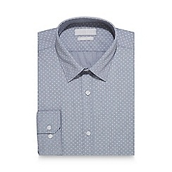 Red Herring - Grey star print slim fit shirt