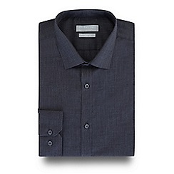 Red Herring - Dark grey slim fit shirt