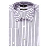 Purple fine striped shirt