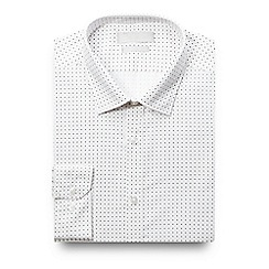 Red Herring - White mini diamond print shirt