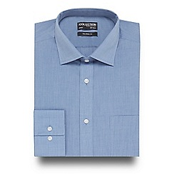 The Collection - Light blue textured tailored fit shirt