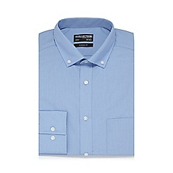The Collection - Big and tall bluelong sleeved shirt