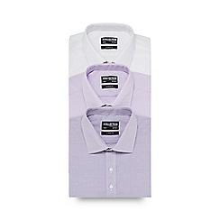 The Collection - Big and tall pack of three assorted regular fit shirts