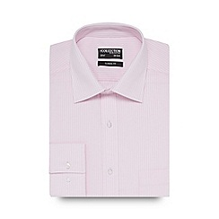 The Collection - Big and tall pink striped print regular fit shirt