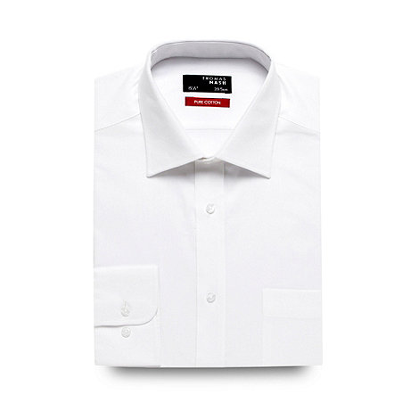 Thomas Nash - White coolest comfort shirt