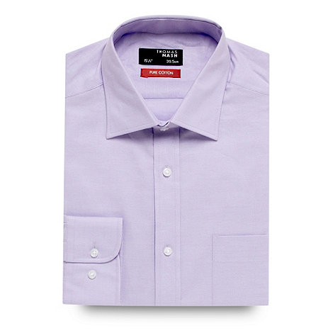 Thomas Nash - Big and tall lilac coolest comfort shirt