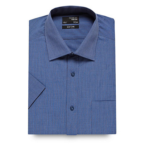Thomas Nash - Dark blue ultimate short sleeve shirt