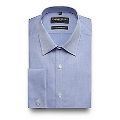 Hammond & Co. by Patrick Grant - Blue tailored fit shirt