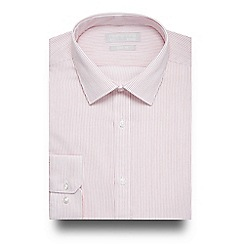 Red Herring - Red striped print slim fit shirt
