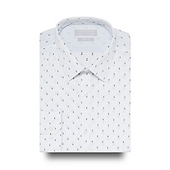 Red Herring - White printed slim fit shirt