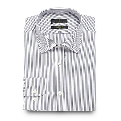 J by Jasper Conran - Designer white dual striped shirt