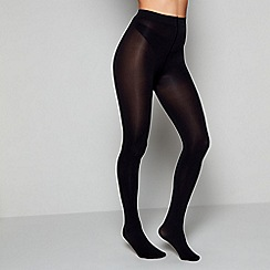 Pretty Polly - Black 80 denier opaque tights