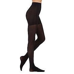 Aristoc - Black 60D opaque body toner tights