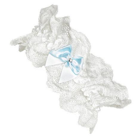 J by Jasper Conran - Ivory lace bridal garter