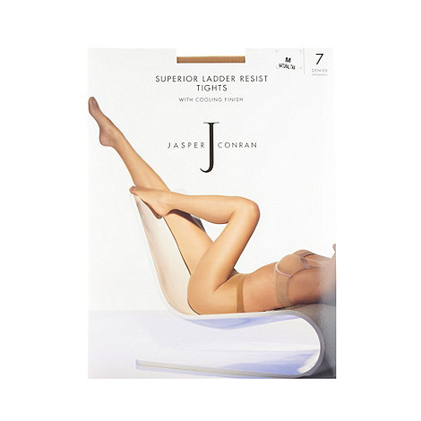 J by Jasper Conran - Light cream 7D sheer ladder resistant cooling finish tights