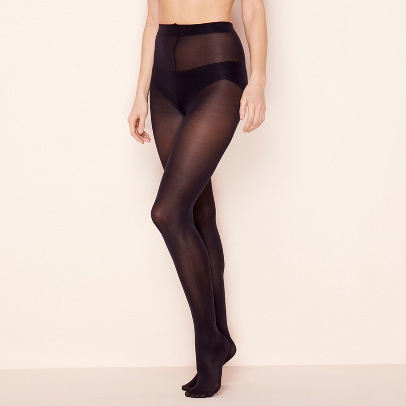29acf704be2 The Collection - 3 Pack Navy Opaque Microfibre 60 Denier Tights - £6.00 -  Bullring   Grand Central