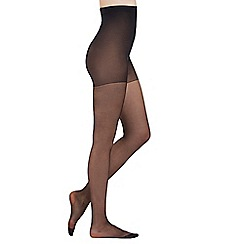 Pretty Polly - Black 10 Denier curve tights