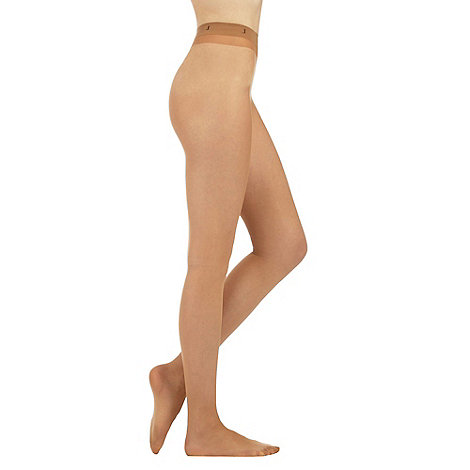 J by Jasper Conran - Natural 15D sheer ladder resistant sheen tights