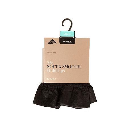Debenhams - Black 60D soft and smooth opaque hold ups