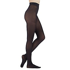 J by Jasper Conran - Black 60D supersoft opaque tights