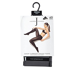 J by Jasper Conran - Grey 60D supersoft opaque tights