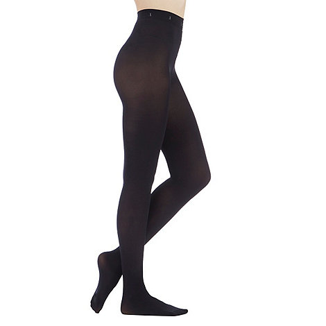 J by Jasper Conran - Black 100D opaque tights