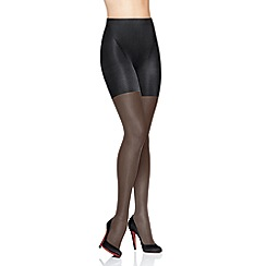 Spanx - Black 'Super Shaping' sheer tights