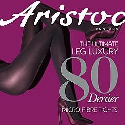Aristoc - Grey 80 denier opaque tights