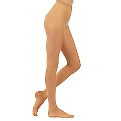 Debenhams - Natural 10 denier matte sheer tights