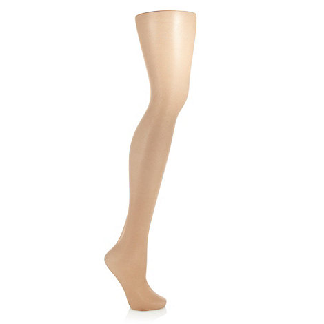 Debenhams - Natural 30D semi opaque cooling finish tights
