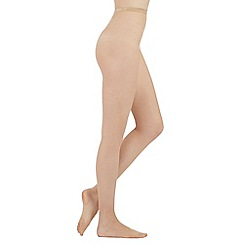 J by Jasper Conran - Natural micronet tights