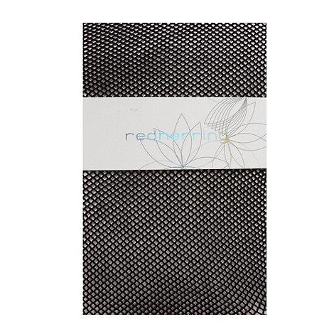 Red Herring - Black fine fishnet tights