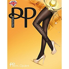 Pretty Polly - Black embelished tights