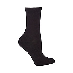 Debenhams - Pack of three comfort ankle socks