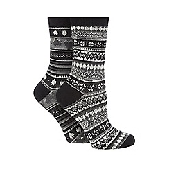 Jennifer Anderton - Pack of two dainty knit socks