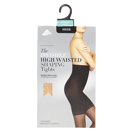 Debenhams - Nude 15D high waisted hourglass shaping tights