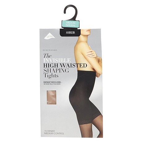 Debenhams - Natural 15D high waisted hourglass shaping tights