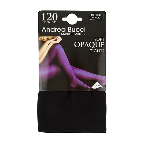 Andrea Bucci - Black 120D opaque tights