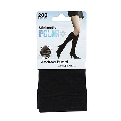 Andrea Bucci - Black 200D thermal knee high