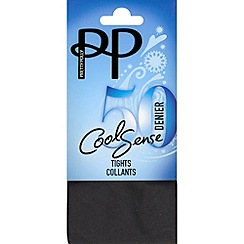 Pretty Polly - Black 50 denier cooling opaque tights