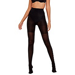Spanx - Black 60 denier opaque high waisted support tights
