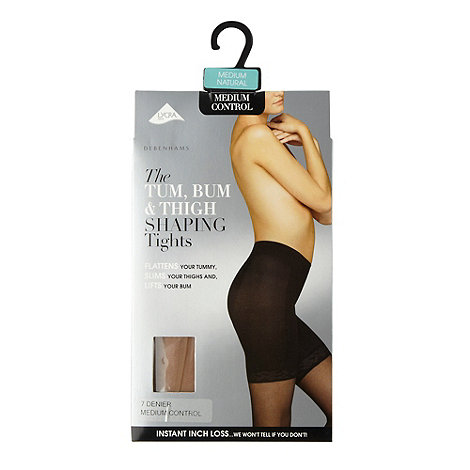 Debenhams - Natural 7D tum, bum and thigh shaping tights