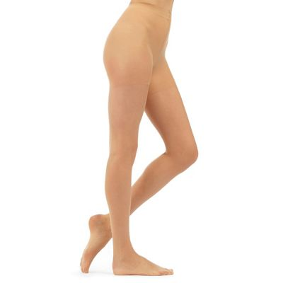 Light cream sheer and shimmer 7D tights