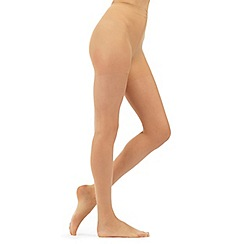Debenhams - Light cream sheer and shimmer 7D tights