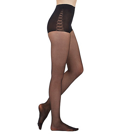 Aristoc - Black 15D tummy tuck toner tights