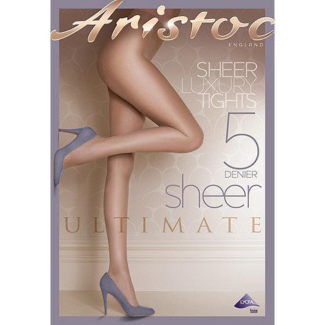 Aristoc - Cream 5D sheer tights
