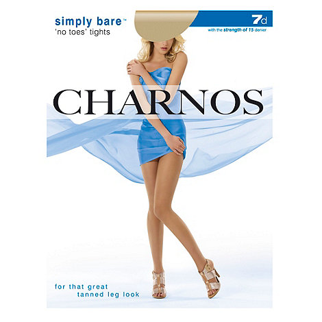 Charnos - Light tan Simply Bare+ No Toes+ tight