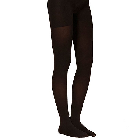 Spanx - Black Tight-end opaque tights
