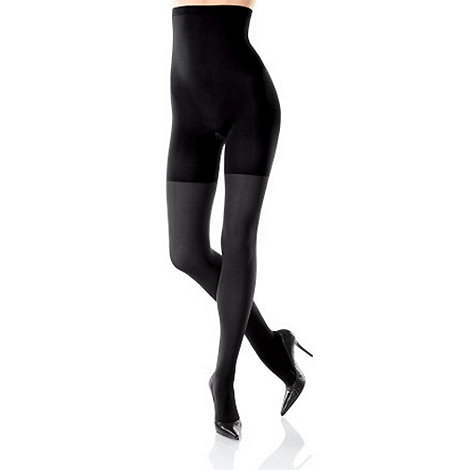 Spanx - Black Tight-end high-waisted opaque tights
